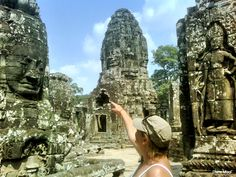 #Temples of #AngkorWat in #SiemReap, #Cambodia. Incredible!!!  Lots of pics and info