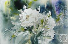 Картина. Стерхов Константин. Белые розы