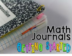 Starting a new routine in your day can be daunting! Here are some tips for getting young learners started with math journals! Make an example journal. Do not skip this step! I don't mean along wi Math Classroom, Kindergarten Math, Teaching Math, Teaching Ideas, Classroom Ideas, Preschool, Interactive Math Journals, Math Notebooks, Daily 5 Math