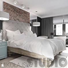 projekt sypialni-vintage Sypialnia - zdjęcie od MIKOŁAJSKAstudio