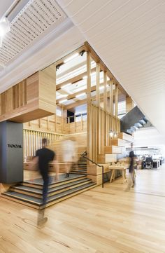 """Completed in 2016 in Melbourne, Australia. Images by David Yeow, Tommy Miller. . """"How do we want to create?"""" As the team at Cox Architecture met to commence planning and design on the practice's new workplace, this was the..."""