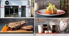 'Fika' (on Brick Lane) - Swedish for hanging out and relaxing with friends – is an appropriate name for this laid-back Brick Lane eaterie, which serves up tasty plates of flash seared gravadlax, meatballs and 'elk' burgers. Pictures of traditional Scandinavia folklore creatures currently adorn the dining space, courtesy of illustrator Emma Farrarons.