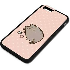 iPhone 6 6S Case, Pusheen Cat [PC+ TPU] Case iPhone 6 6S 4.7-Inch... found on Polyvore featuring accessories, tech accessories and phone cases
