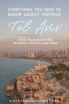 This is a guide centered around learning about Tel Aviv and Israeli culture. We share recommendations on the best neighborhoods, getting around, what to eat, and dive into Israeli culture. Us Travel, Places To Travel, Africa Travel, Travel Destinations, Travel Guides, Travel Tips, Visit Israel, Adventures Abroad, Israel Travel