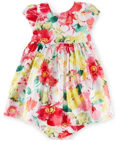 Ralph Lauren Baby Girls' Floral-Print Sundress