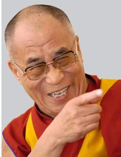 The Dalai Lama-  A man and a philosophy that I am comfortable following and practicing... Cheers... Big Al Connolly
