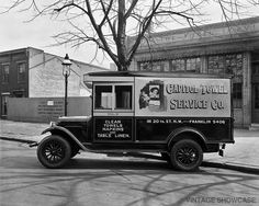 Capitol Towel Service Truck 8x10 by VintageShowcase on Etsy, $8.00