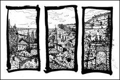 OLD TOWN WINDOWS by Badusev on DeviantArt