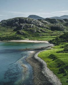 The spectacular Gruinard Bay in Ross and Cromarty will blow your mind with its pink sand, rocky coves and amazing views. Cromarty, Pink Sand, Blow Your Mind, Scotland Travel, Summer Travel, Places Ive Been, To Go, Landscape, Highlands