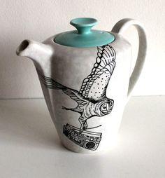 Teapot. Owl. Boombox. AMAZING