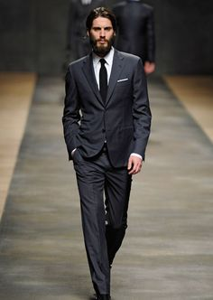 The groom: suits from the runway   Madison