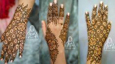 #hennatattooeasy #hennapaste most beautiful and stylish ,2 different back hand henna design for Eid 2021 || Rose henna Design . Latest Arabic Mehndi Designs, Basic Mehndi Designs, Mehndi Designs For Beginners, Mehndi Designs For Hands, Indian Wedding Henna, Bridal Mehndi, Henna Mehndi, Hand Henna, Rose Henna