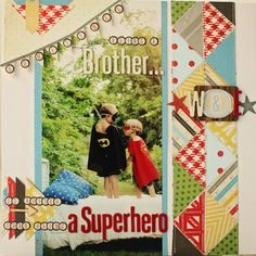 Superheroes W & E *Crate Paper* by naomiatkins at Studio Calico