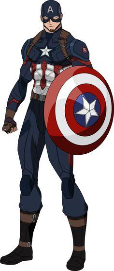Captain America Civil War (Bourassa) by OWC478 on DeviantArt - visit to grab an…