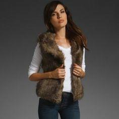 BB Dakota Jackets & Blazers - Jack for BB Dakota faux fur vest size S