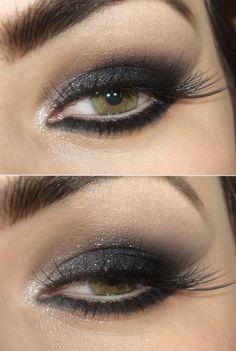 http://www.pausaparafeminices.com/maquiagem/tutorial-maquiagem-olho-de-gato-preto-com-brilho/