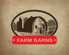 Farm barns Logo design - Farm barns logo is for construction companies, that specializes in barns and wooden construction. Price $350.00