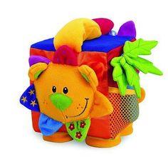 TOLO puha baba Toy Jungle Activity játék Cube - GBP 14.99