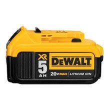 DEWALT 20 Volt MAX XR Lithium Ion Premium Battery Pack 5.0Ah