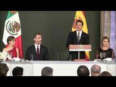 La jornada concluyó con la cena que el Presidente de México y su esposa ofrecieron en el Palacio Nacional en honor de los Reyes. En su intervención, Don Feli...