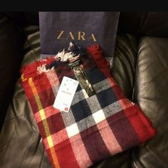 Zara blanket scarf Nice large soft comfortable blanket scarf Zara Other