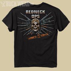 Redneck Ops - Adult Redneck T-Shirt