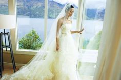 The stunning bride Yao Chen, a Chinese actress, at Matakauri Lodge. Every imagineable wedding venue and accommodation option to match your dreams. Whether you're seeking rustic intimacy or opulent grandeur, the perfect place to create your memories is here. http://www.purenzweddings.com/blog/weddings/why-new-zealand-is-the-destination-of-choice-for-weddings