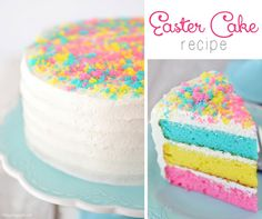 Easter Cake Recipe on Yummly. @yummly #recipe