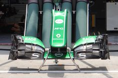 Round 2, Petronas Malaysian Grand Prix 2013, Preview, Caterham F1 Team, Front Wing Detail