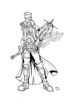 "Andrew Scott Keller on Twitter: ""New Commission: ""Thayer the Witch Slayer!""…"