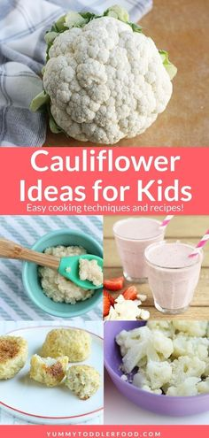 Learn the best ways to cook cauliflower including ROASTED, STEAMED, and CAULIFLOWER RICE, with easy methods and kid-friendly flavor. Perfect for picky eaters! Ways To Cook Cauliflower, Cauliflower Recipes, Cauliflower Rice, Veggie Recipes, Baby Food Recipes, Easy Toddler Meals, Quick Easy Meals, Kids Meals, Toddler Food