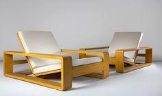 1934_ fauteuils dessinés par Jean Royère