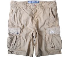 Peaceful Hooligan Container Ripstop Shorts Stone