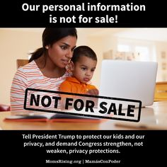 It's time they stand up for regular people like us, not companies seeking to sell our most personal information.