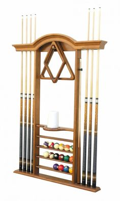 billiards accessory wall storage | Measure Your Pool Table