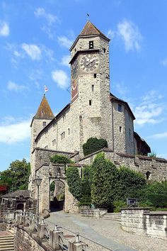 - 6 Schloss ~ Rapperswil Castle ~ Canton of St Gallen, Switzerland~ Rapperswil Castle ~ Canton of St Gallen, Switzerland Zurich, Places To Travel, Places To See, Le Palais, Medieval Castle, Countries Of The World, Beautiful Places, Scenery, Around The Worlds