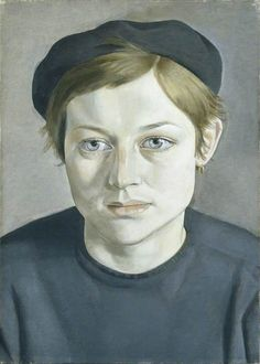 lucian freud(1922–2011), girl with beret, 1951. oil on canvas, 35.5 x 25.6 cm. manchester city galleries, uk http://www.bbc.co.uk/arts/yourpaintings/paintings/girl-with-beret-205011