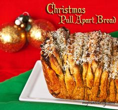 Christmas Pull Apart Bread and, no, this is not cinnamon bread. Savory fillings to savor the holiday.