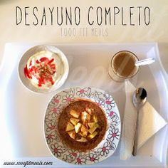 1000 Fit Meals: #101 Desayuno completo 1000 Fit Meals