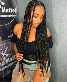 Braided Hairstyles For Black Women Cornrows, Box Braids Hairstyles For Black Women, Braids Hairstyles Pictures, Black Girl Braids, African Braids Hairstyles, Braids For Black Women, Braids For Black Hair, Girls Braids, Protective Hairstyles