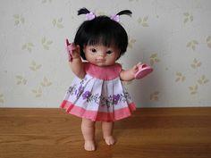 Принцип построения выкройки на любую маленькую куклу-ребёнка или пупса, на примере Паола Рейна пупса-прямоножки 21 см. Другими словами, рассказываю, как