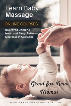 Healthy Baby. Happy Mama.Get Instant Results to Common Problems with Infant Massage | Take this online course to help your baby today!  Reduce fussiness and crying from gas/colicLonger and deeper sleep for baby (and parents)Reduce crying by 50%Improve bonding & communication within families  #parenting #colic #babymassage #infantmassage #healthybaby #families #momandbub #onlinecourses #newmoms Gas Remedies, Colic Baby, Gas Relief, Bonding Activities, Baby Schedule, Baby Massage, Natural Baby, Good Sleep