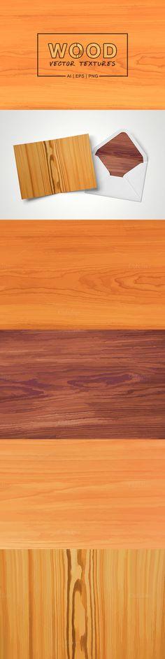 Wood Vector Textures. Scrapbooking. $4.00