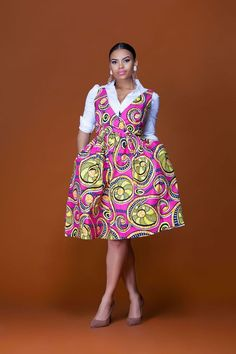 African Print Styles For Your Special Events - Sisi Couture Short African Dresses, Latest African Fashion Dresses, African Print Dresses, African Print Fashion, African Prints, African Clothes, Africa Fashion, African Attire, African Wear