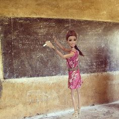 Pin for Later: This Instagram Account Perfectly Parodies Volunteer Workers in Africa Barbie isn't too concerned with her lack of teaching abilities.