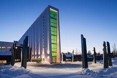 MAF Architects: Rocket School, Kiruna, Svezia