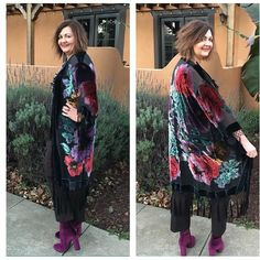 velvet kimono: 3 way