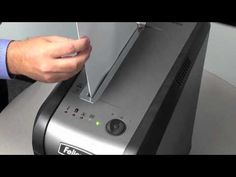 Fellowes 69Cb Shredder Video
