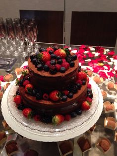 Chá bar naked cake !!!