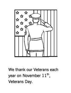 #military #veterans Veterans Day Early Learner Booklet - @ www.HireAVeteran.com
